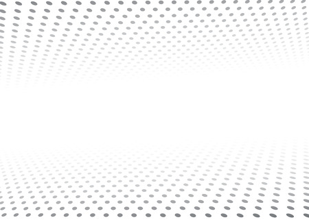 Perspective abstract texture dots background for graphics design. Vector illustration