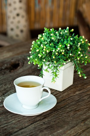 crema: Tea break on the morning for a new day.