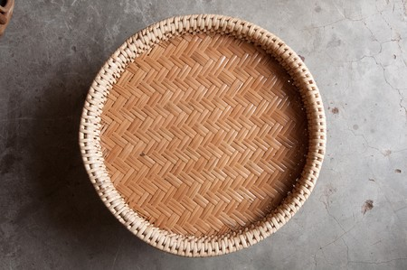 Rattan of food deck are tradition in north of thailand. Stock Photo - 7404189