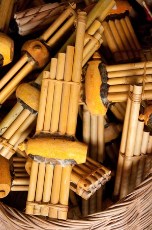 panpipe: The Thai reed mouthorgan is a  panpipe used in the music of the Isan region of northeast Thailand.