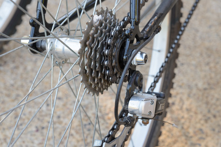 bicycle gear: bicycle gear, shifter, rear