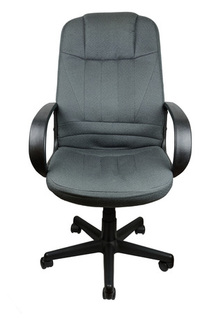 planar: office chair with arm rest, isolate background