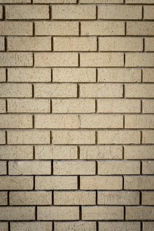planar: orange brick wall background close up