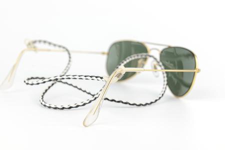 aviator: men accessories classic sunglasses retainer, aviator shape