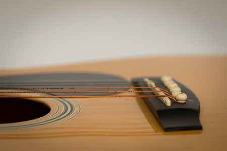 boehm flute: closeup of classic guitar with shallow depth of field for the Aesthetics.