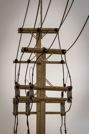 criterion: Electricity transmission lines, power production, transmission, small size