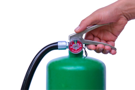 fire extinguishers: fire hydrant,fire-fighting unit,fire hydrant,fire hydrant,fire-fighting unit,fire-fighting unit,Fire extinguishers,security,safety,training,fire brigade,How to use a fire extinguisher. Stock Photo