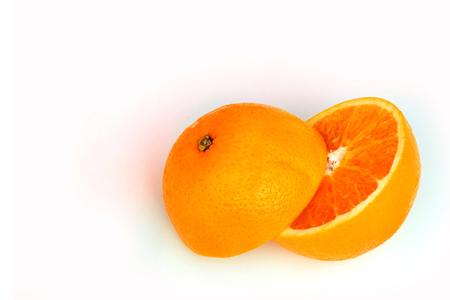 Orange ,fruit on a white background. Standard-Bild - 116546762