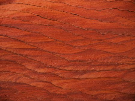 sinai desert: Strange rock formation in the Sinai desert