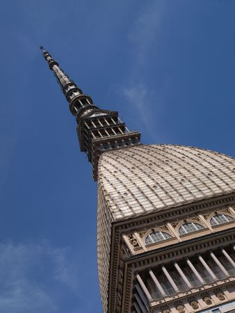 The Mole Antonelliana palace in Turin
