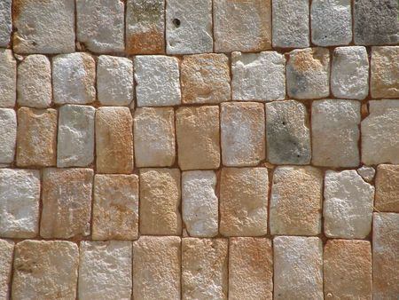 A maya wall Stock Photo