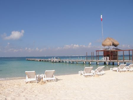 relax in the Isla Mujeres in Mexico