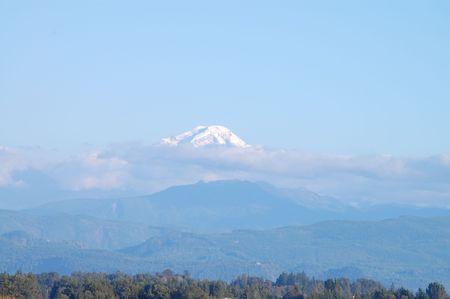 Mount Baker Zdjęcie Seryjne