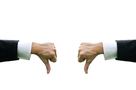 Business arm concept hand isolate Stock Photo - 10677448