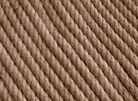 Background texture stucture wall rope brown Stock Photo