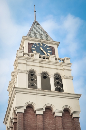 Clock tower everland in seoul, South Korea Stock Photo - 12972327