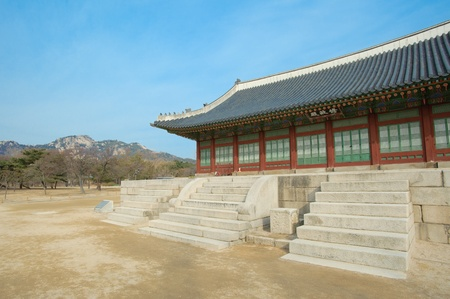 kyongbok palace korea beautiful landscape Stock Photo - 12877966