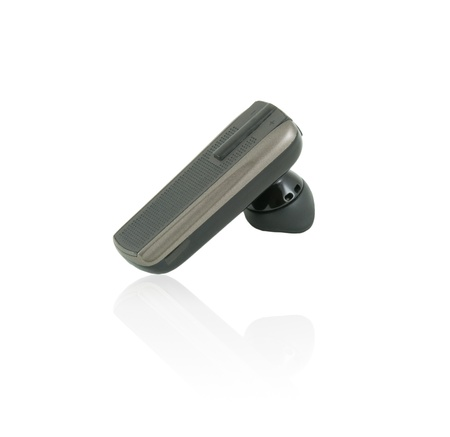 Bluetooth handless moble phone headset on isolate