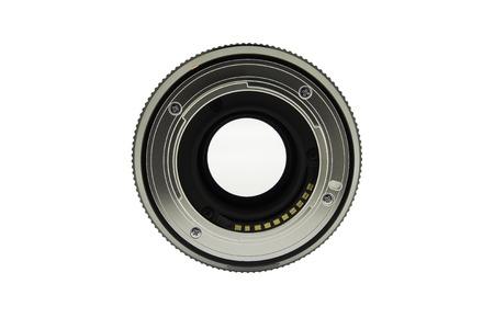 closeup of camera lens, Lens contacts mount