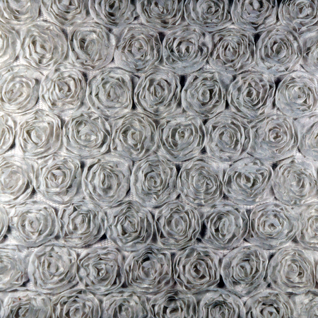 color pattern: Background, gray Fabric roses Stock Photo
