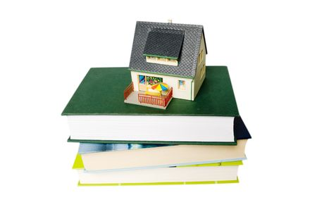 house on books photo