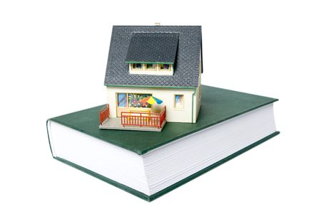 house on book photo