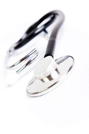 close range: stethoscope in close range Stock Photo