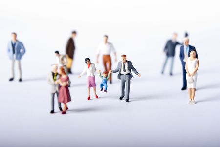 miniature people Stock Photo - 7630029