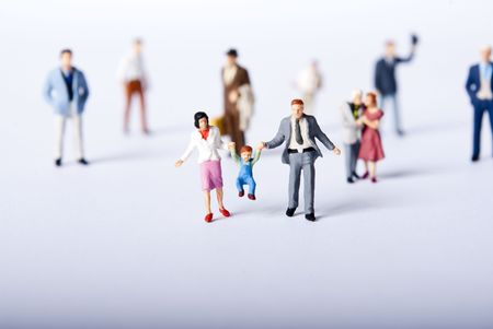 figurines: miniature people