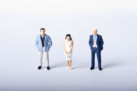 globetrotter: miniature people
