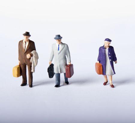 miniature people photo