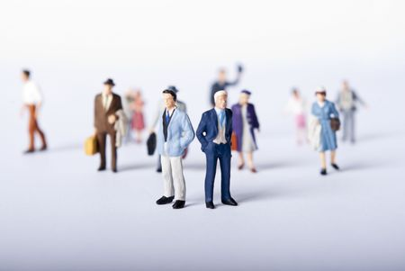 miniature people: miniature people