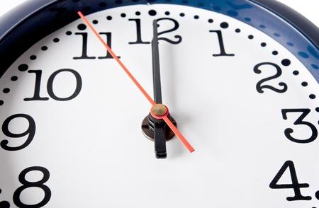 close range: clock in close range