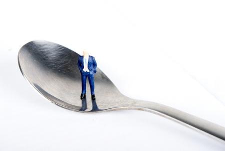 mano on the tea spoon photo