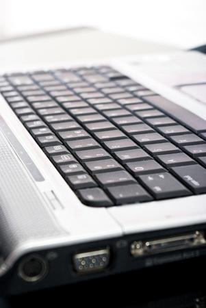 big close up of laptop Stock Photo - 9277125