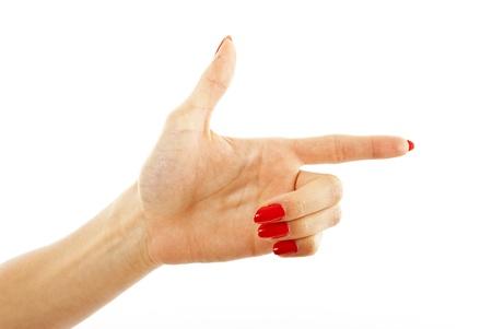 woman hand photo