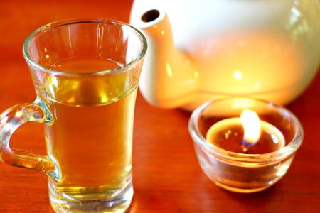 tea break: The Time of Tea Break Stock Photo
