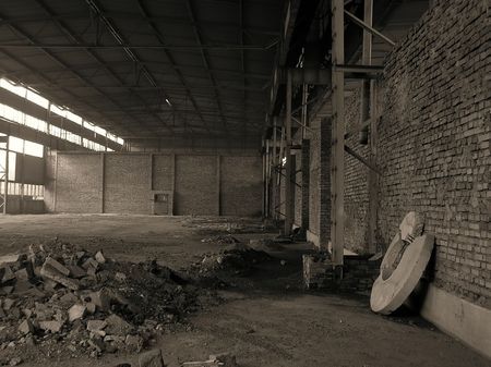 abandoned factory: factory