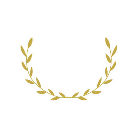 wheat trophy symbol vector design