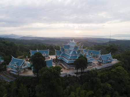 Wat Pa Phu Kon In Ubon Ratchathani,Thailand.Is a public temple. In the middle of the forest is beautiful. And is popular with tourists. Archivio Fotografico
