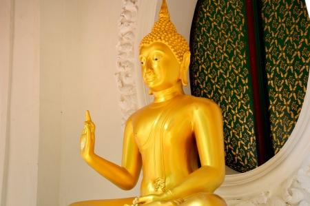nakhon pathom: image of Buddha is great pagoda area in the Nakhon Pathom province, Thailand