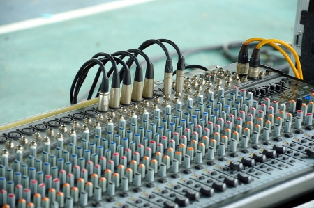 the audio sound mixer photo