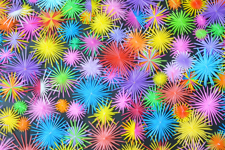 colorful paper used for background photo