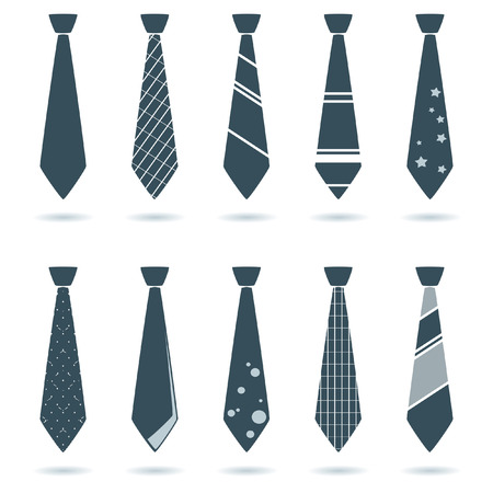 set of tie for businessman