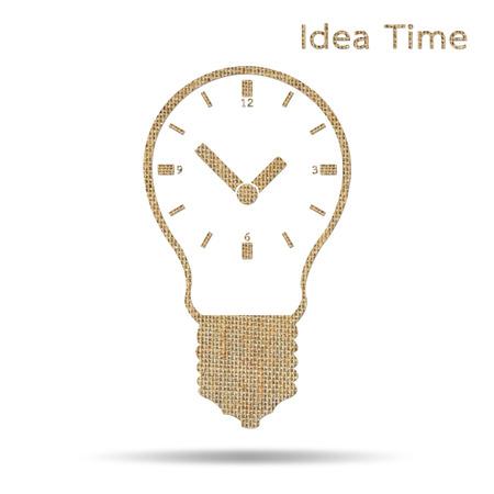 sack: time in light bulb design from sack