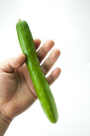 roundness: Cucumber Stock Photo