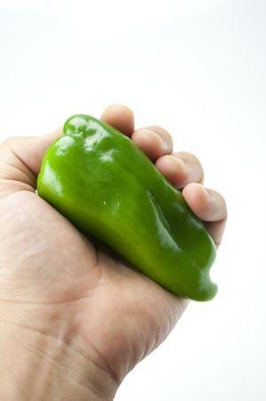 roundness: Green pepper