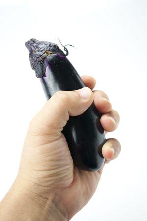 roundness: Eggplant Stock Photo