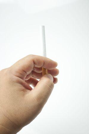 unhealthiness: smoke Stock Photo