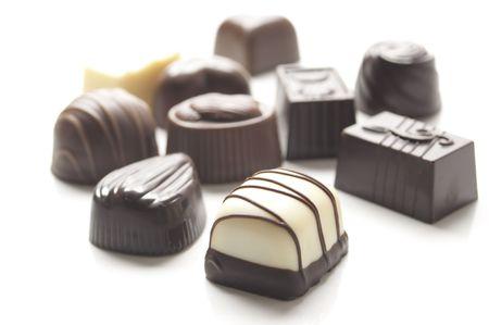 チョコレート 写真素材